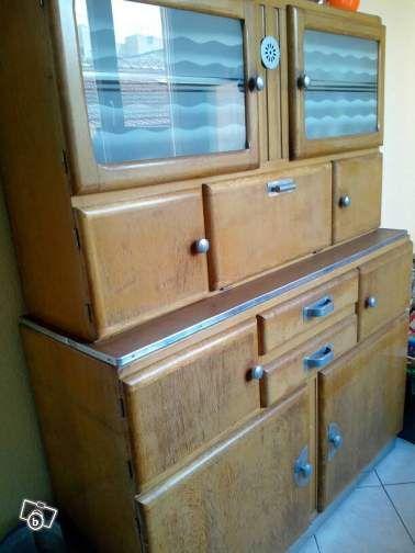 interior design decoration loft furniture buffet de cuisine vintage 5060 - Buffet Retro Cuisine