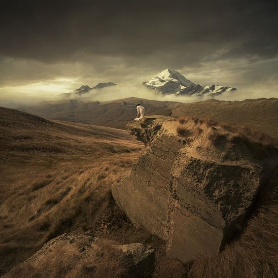Photographs of an imaginary world/ The Polish artist  Michal Karcz  wonderfully uses photo retouching to turn your photos into landscapes of imaginary worlds.