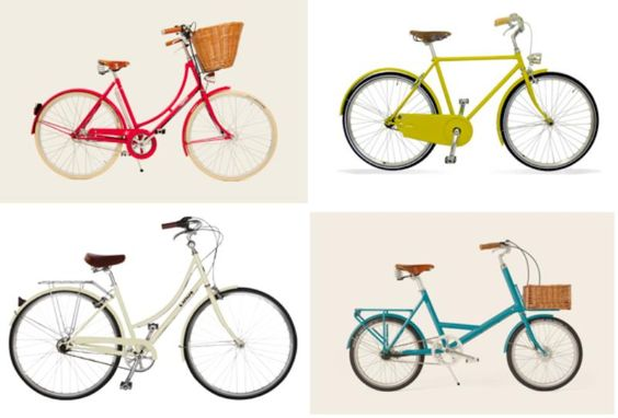 Lovely Bicycles for Summer Riding