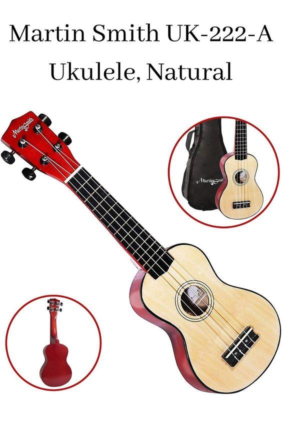 Martin Smith Uk 222 A Ukulele Natural Ukulele Guitar Fender Telecaster