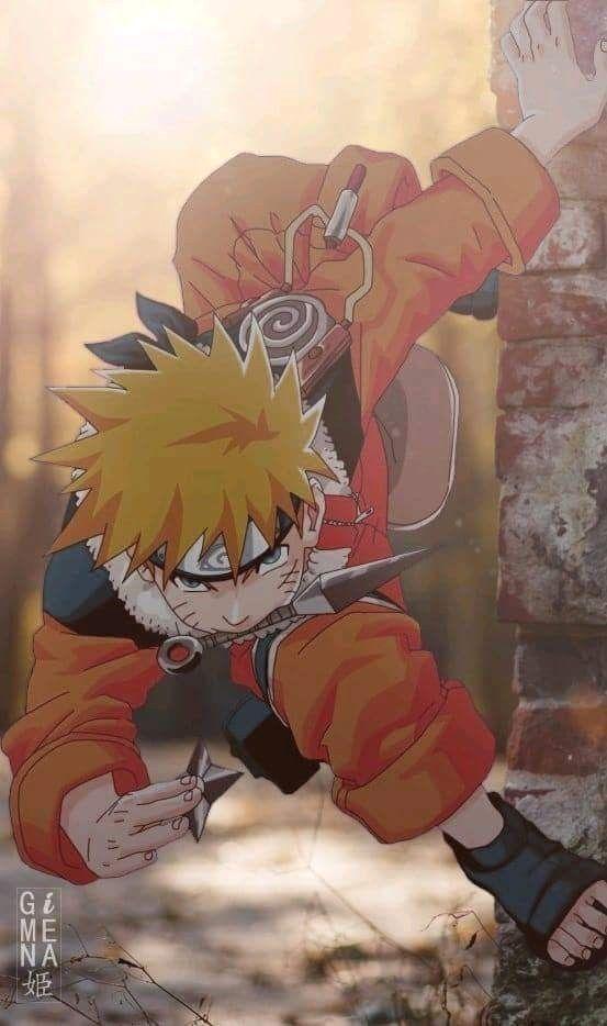 Naruto Uzumaki Future Hokage Und Epic Type Folgen Sie Unseren
