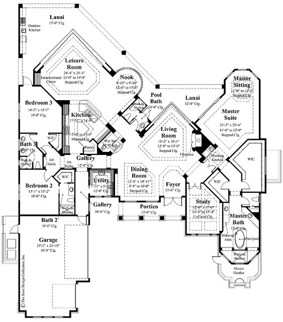 Ranch Style Neoclassical And Open Floor Plans On Pinterest