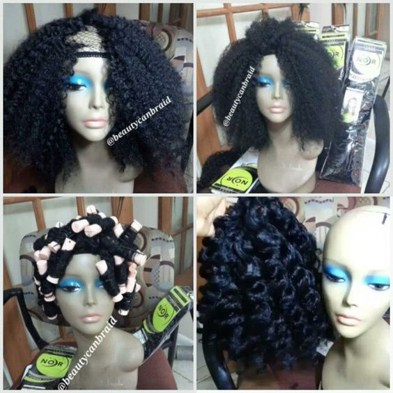 Crochet Hair Unit : wig natural natural braids natural looks crotchet wig crochet hair wig ...