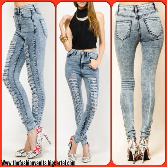 High waist jeans size 3 – Global fashion jeans collection