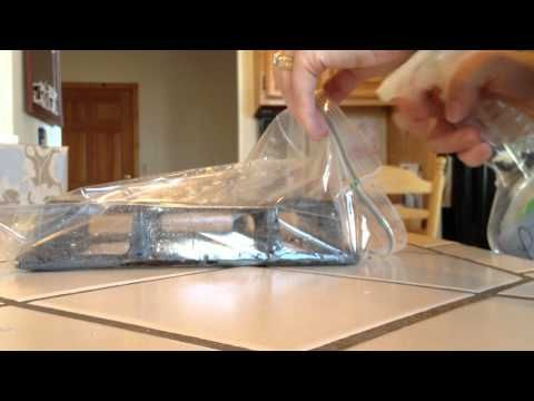 how to clean stove burners with ammonia