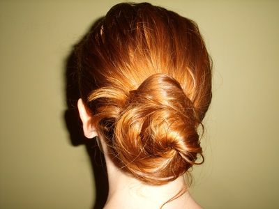 Goody Spin Pin, easy updo, french twist, hairstyles