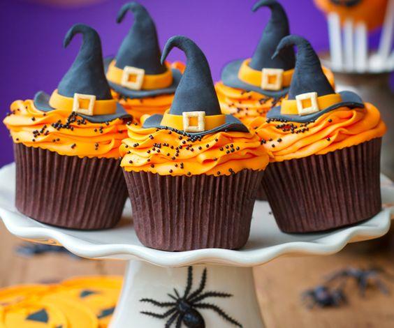 Cake design : les cupcakes d'Halloween