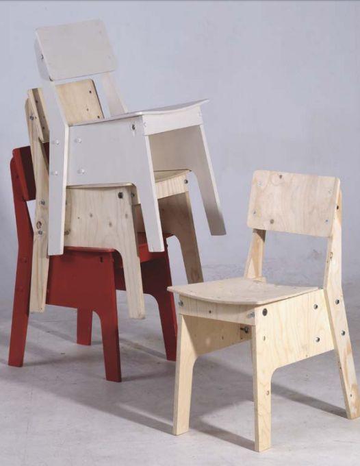 Piet Hein Eek chairs