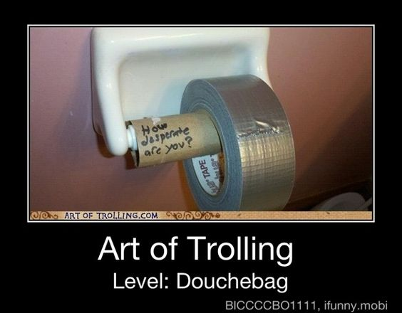 Duct Tape is very handy in any situation!