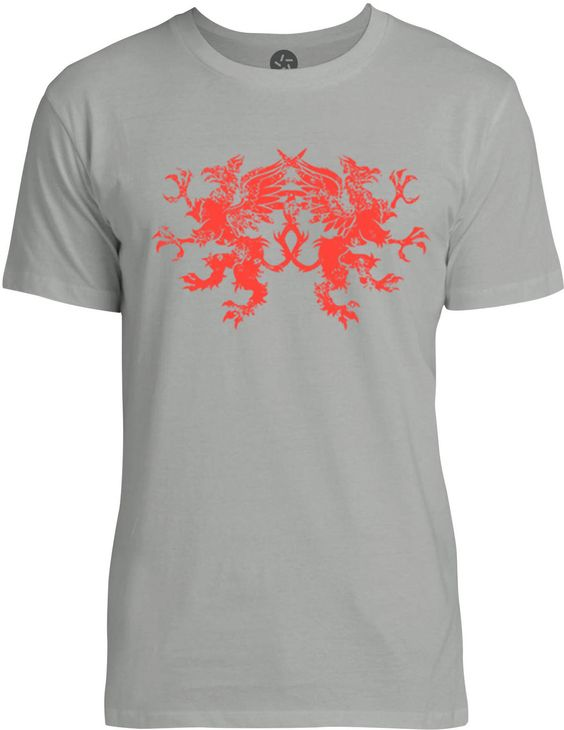 Griffins (Red) Mens Fine Jersey T-Shirt