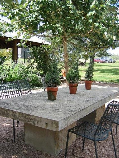 Dining Room Incredible Outdoor Dining Table Stone Outdoor Dining