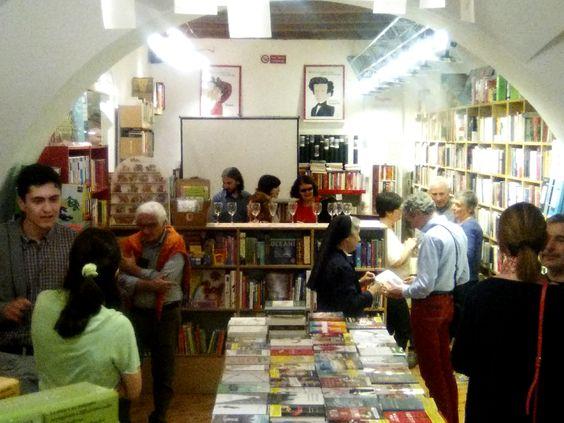 Libreria Aleph @ castelfidardo - giugno 2016. Presentazione de Lo specchio dell'uomo