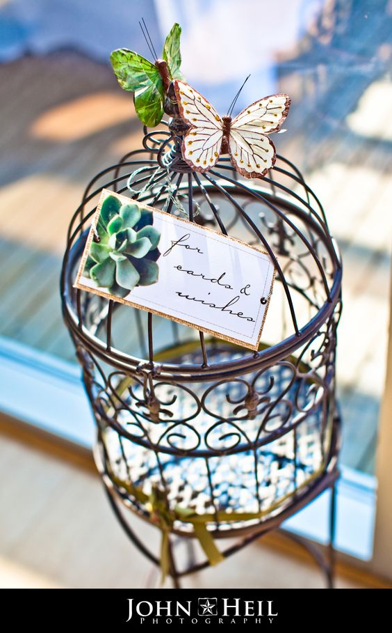 Bird Cage for Cards & Wishes