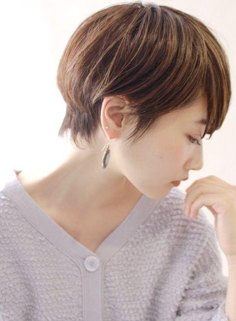 女性らしい 大人のクールショート ヘアビューティ参考 ヘアスタイル 髪型 短い髪のためのヘアスタイル