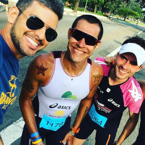 Os campeões da corrida #movimentoPelaMulher Marcelo e Adriano com um SUPER tempo de 16' nos 5k. Insano!!