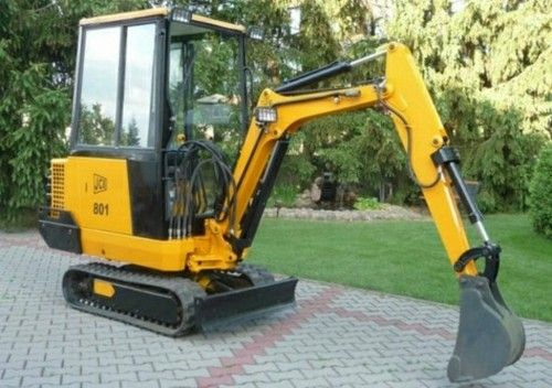 Jcb 801 Mini Excavator Service Repair Workshop Manual