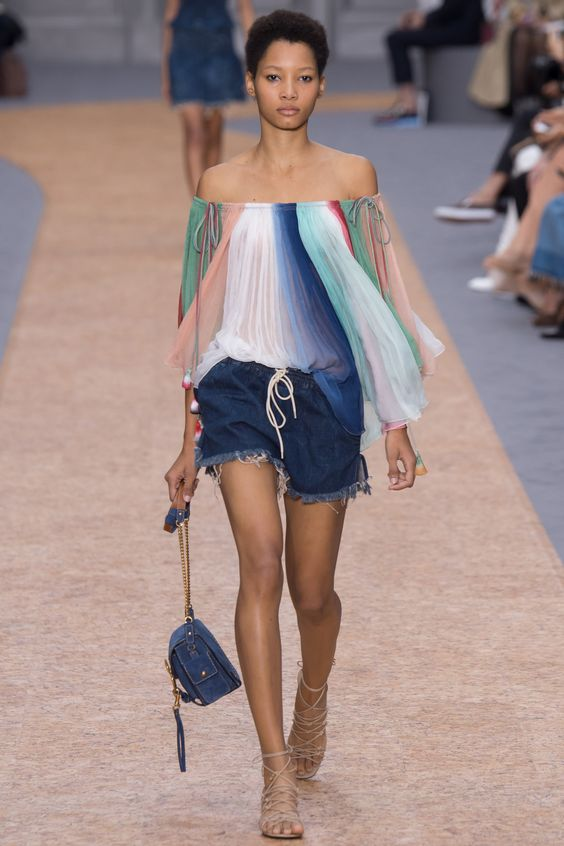 This trend will continue into next season according to the Chloé Spring 2016 collections. www.stylestaples.com.au:
