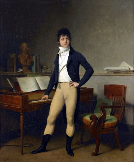 Portrait of François-Adrien Boieldieu, c. 1800, by Louis-Leopold Boilly: