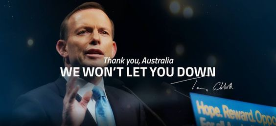 newly elected Prime Minister Tony Abbott ~ 28th Prime Minister of the Commonwealth of Australia.