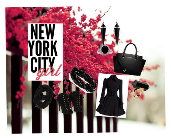 """NYC life"" by jayandtracy ❤ liked on Polyvore featuring art"