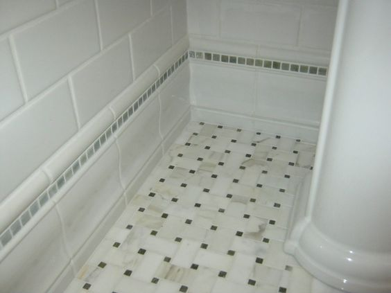 marble mosaic floor ceramic baseboard stone stripe and ceramic