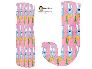 Easter alphabet