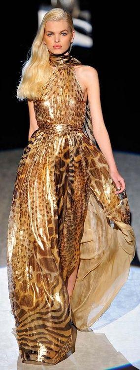 Giraffe, zebra, leopard print.