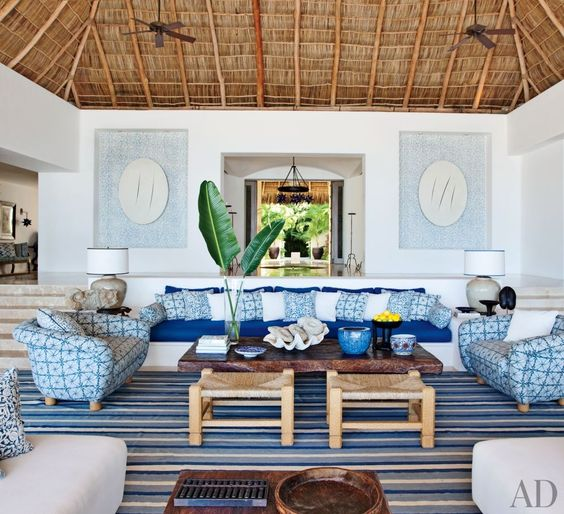 EXOTIC LIVING ROOM BY MARTYN LAWRENCE BULLARD DESIGN At A Mexican Beach  House By Martyn Lawrence Part 52