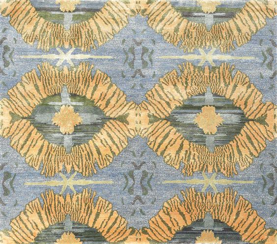New Moon Rug   Leo, Periwinkle. The Intricate Designs Created By The  Kaleidoscopic Effect