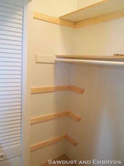 How To Build Your Own Custom Closet Shelving! | Custom Shelving, Shelving  And Closet Shelving