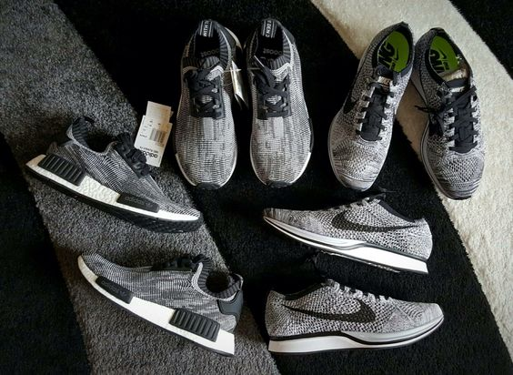 b4f070c450cd ... germany nike flyknit racer vs adidas ultra boost youtube sneakers  pinterest nike adidas nmd and adidas
