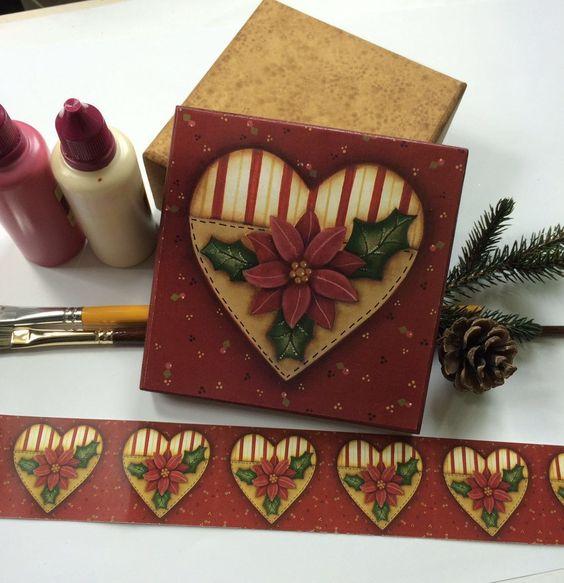 AO VIVO-Pintando com o ♥-Segundas-19h-Caixa Com Técnica De Pintura e Dec...
