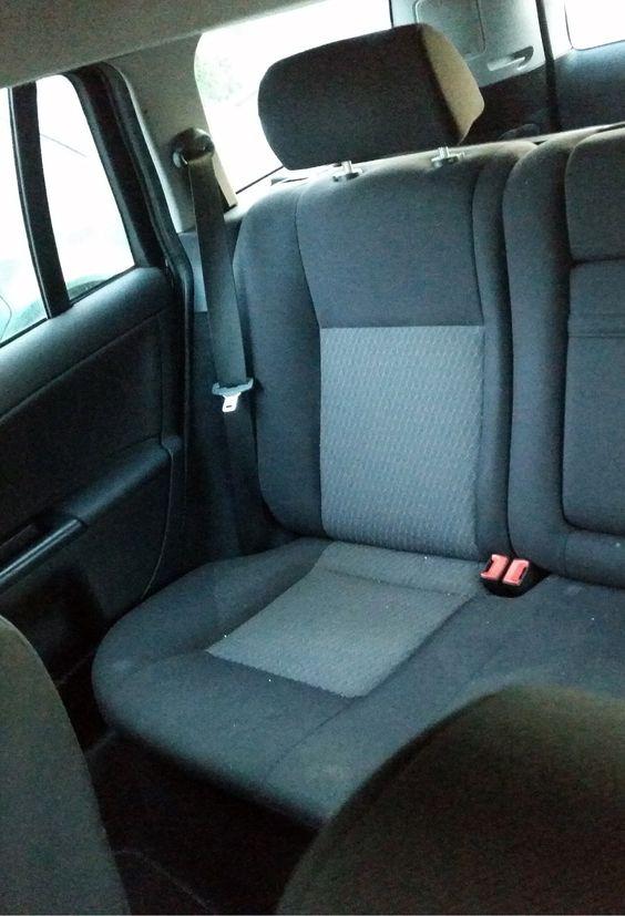 Ford Mondeo Mk3 Model 2001 Rücksitzbank vor der Montage #designbezuege #designbezuege nach maß #Tuning, #Stickerei, #Tuning, #FORD Mondeo,  #Rautenmuster, #Leder,  #Autositzbezüge