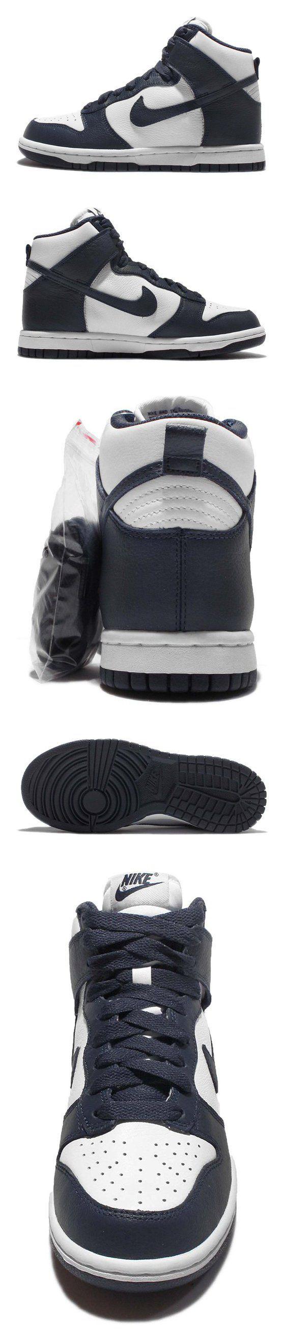 $203.6 - Nike Women's Wmns Dunk Retro QS  WHITE/MIDNIGHT NAVY #shoes #nike #2016