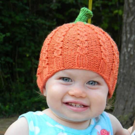 Pumpkin Patch Beanie