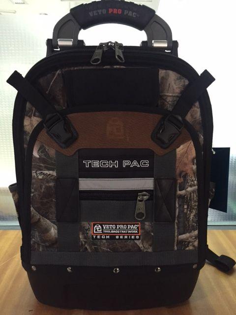 Backpack Tool Bag Veto Pro Pac Tech Pac Camo TT