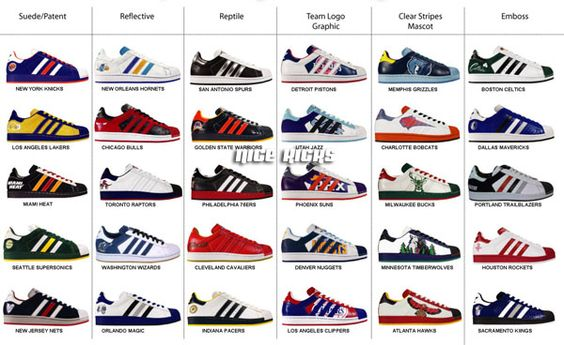 Adidas Superstar Collection