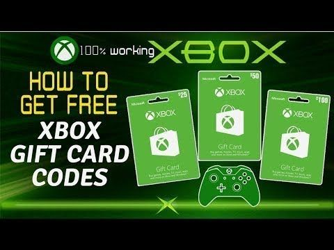 Carte Cadeau Roblox Gratuit 2019 - Free Xbox Gift Card Codes How To Get Free Xbox Gift Card
