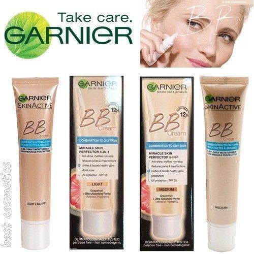 Details About Nib Garnier Bb Cream Miracle Skin Perfector 5 In 1