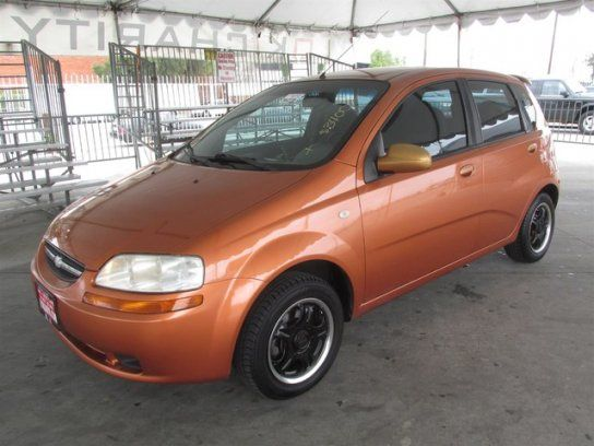 Hatchback 2005 Chevrolet Aveo Ls With 4 Door In Gardena Ca