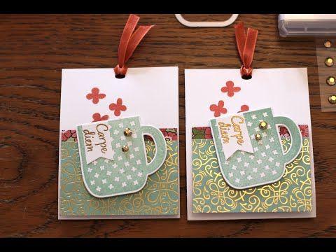 Verpackung Fur Tee Mit Produkten Von Stampin Up Produktreihe Schoner Garten Youtube In 2020 Teebeutel Verpackung Teelichter