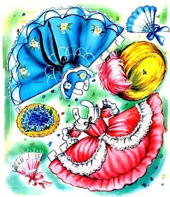 AMARNA IMAGENS: BONECAS DE PAPEL