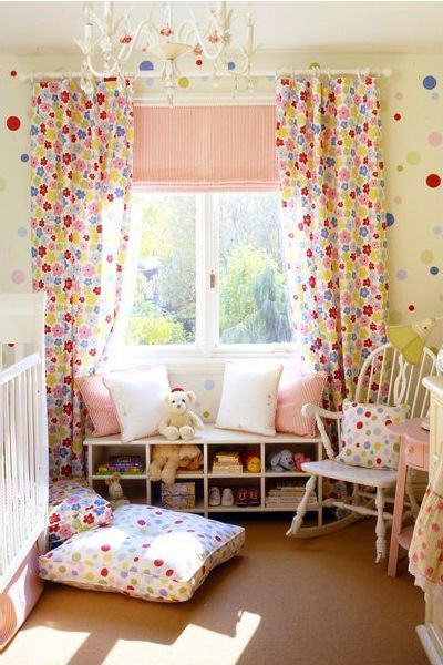 Curtains Ideas bright patterned curtains : Canadian House and Home Gallery | House and home, Window benches ...