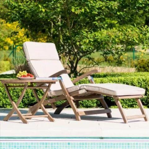 Alexander Rose Sherwood Deckchair Set Deckchair Garten Gartenmobel
