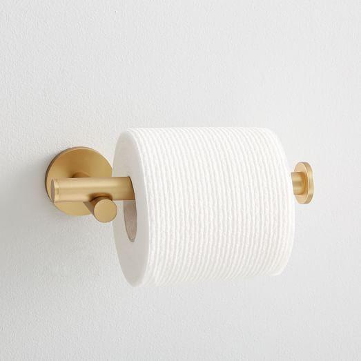 Mid Century Bathroom Hardware Antique Brass Toilet Paper Holder Bathroom Hardware Toilet Paper