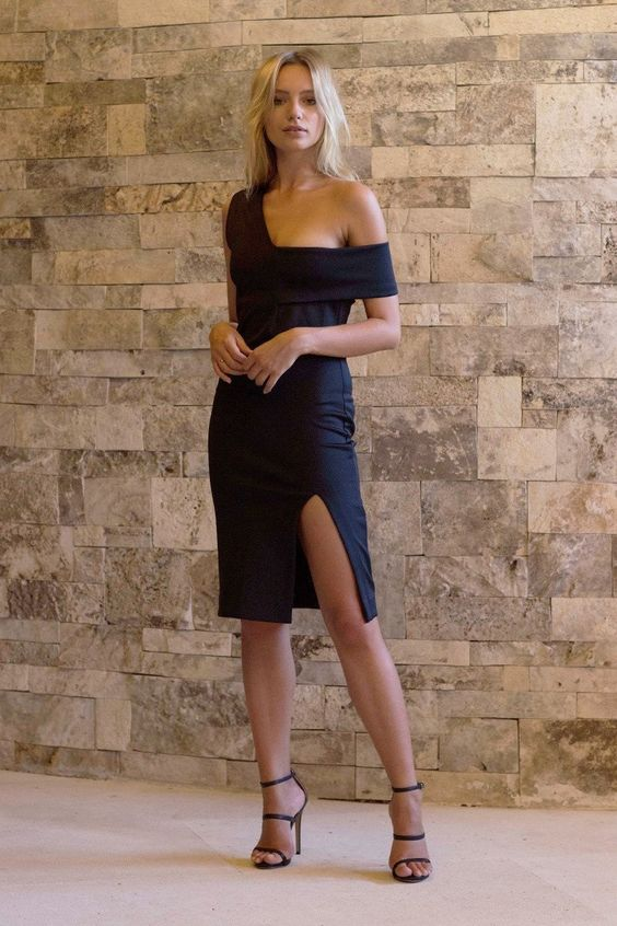 Maurie & Eve - Pre Order Attaboy Dress Black: