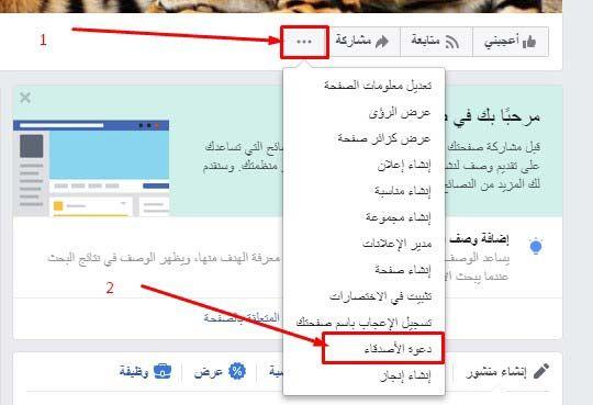 البحث في فيس بوك