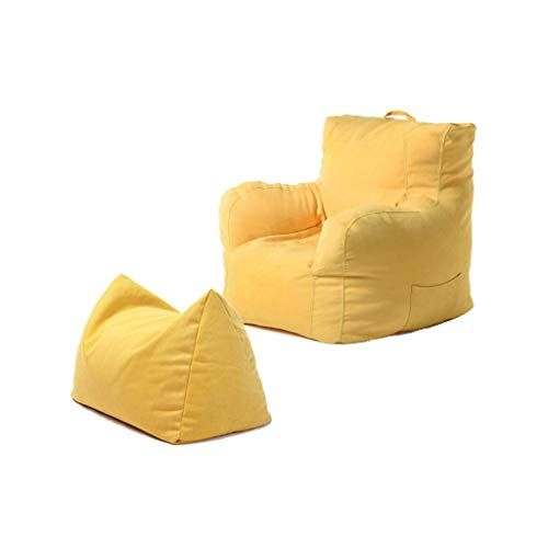 Single Sofa Lazy Small Sofa Fabric Bedroom Mini Soft Sofa Armchair Color Yellow With Images Soft Sofa Sofa Colors Sofa Armchair