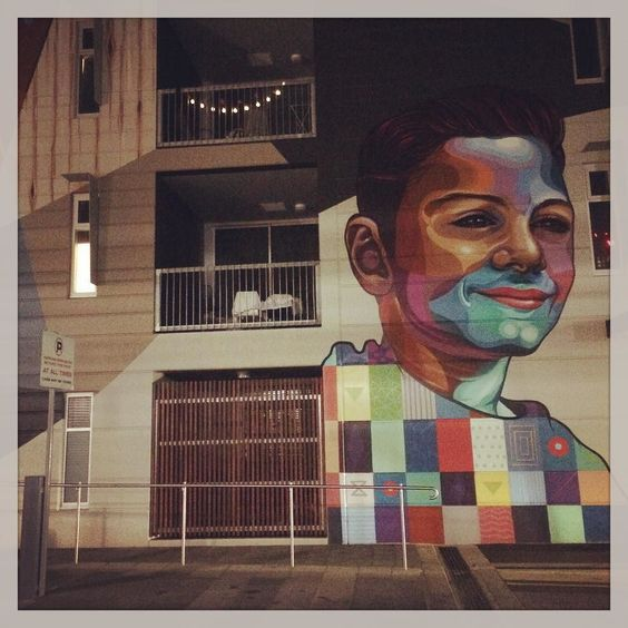 When you find yourself somewhere unusual on a Thursday evening... Take a photo... #streetart #adelaide by yaniism