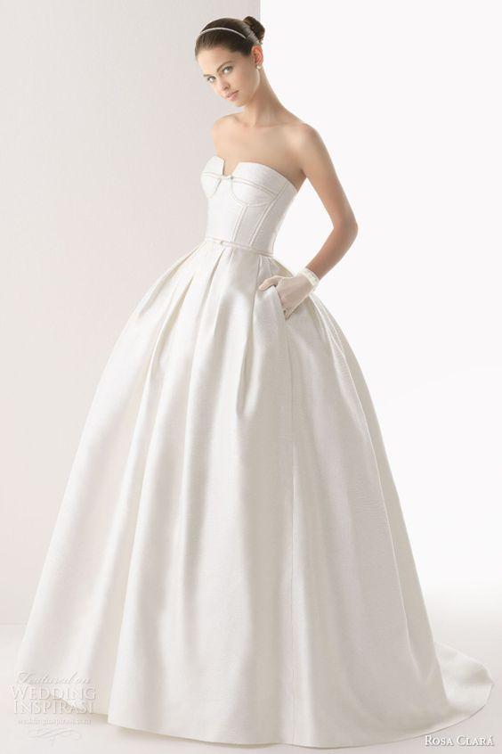 Rosa Clará 2014 Wedding Dresses | Wedding, Rustic wedding dresses ...